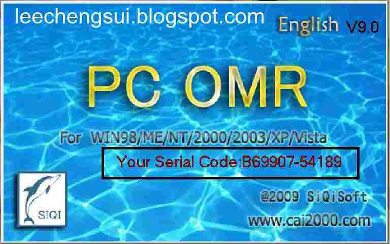Pc Omr 9 0 Keygen Aplikasi Pembaca Ljk Google