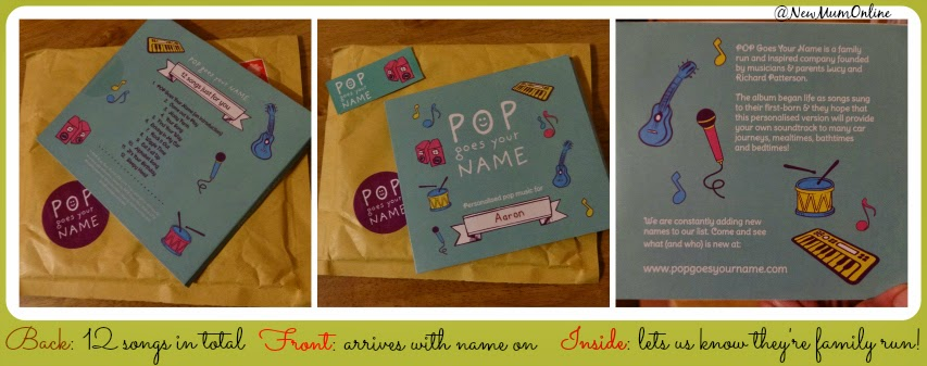 Pop Goes Your Name Personalised Pop Music CD review