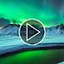 Video timelapse chất lượng 4K cực quang trên bầu trời Iceland và Greenland