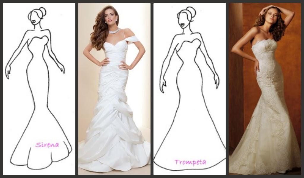 rachel´s fashion room: cómo elegir vestido de novia según tu silueta