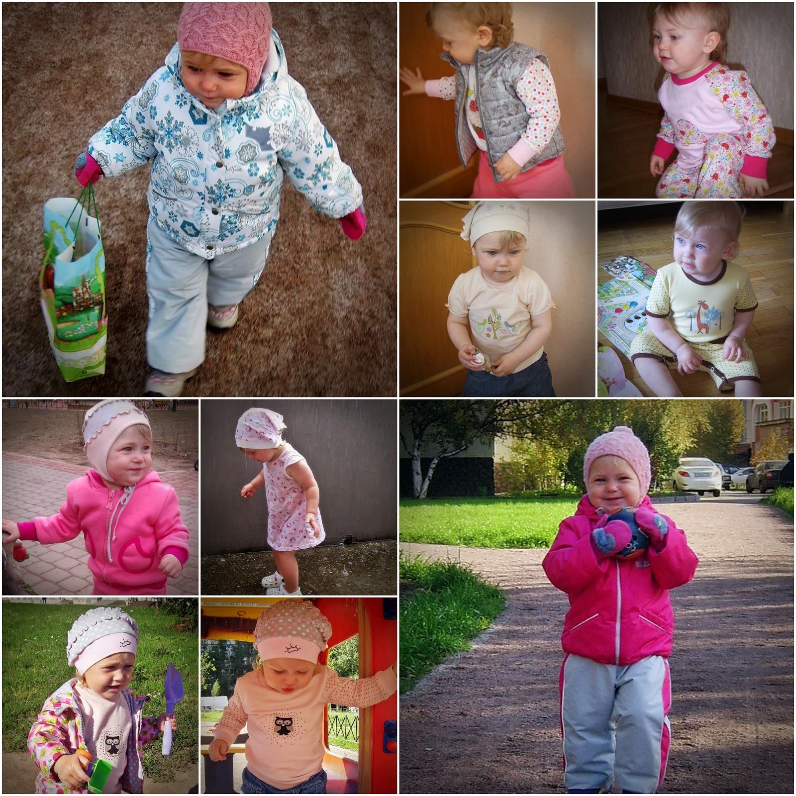 Коллаж: детская одежда handmade