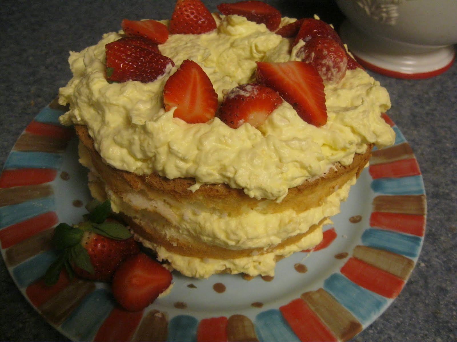 Angel Food Cake Crushed Pineapple Dessert