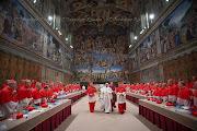 A escolha na Capela Sistina/Foto L'Osservatore Romano franciscopapa