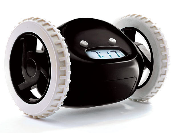 15 Jam Alarm Terunik di Dunia: Clocky Robotic Alarm