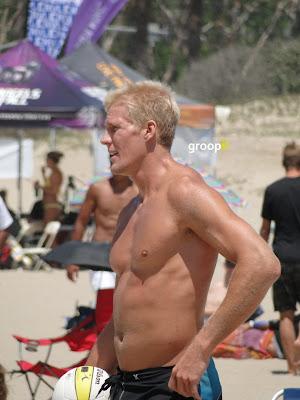 Ben Diggins Shirtless at the NVL Malibu 2011