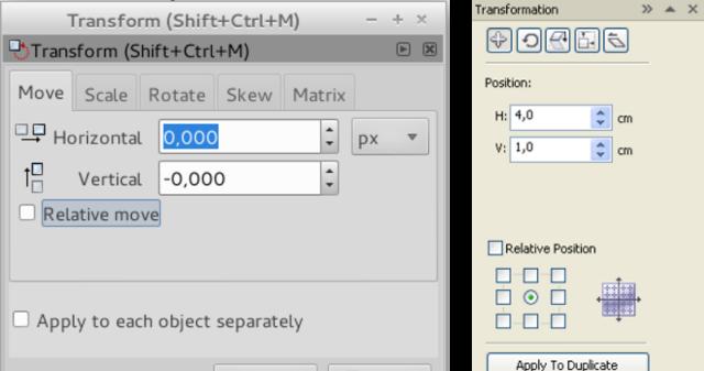Mengenal Transformation Object Pada Inkscape Dan Corel