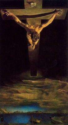 Salvador Dalí El Cristo de san Juan de la cruz
