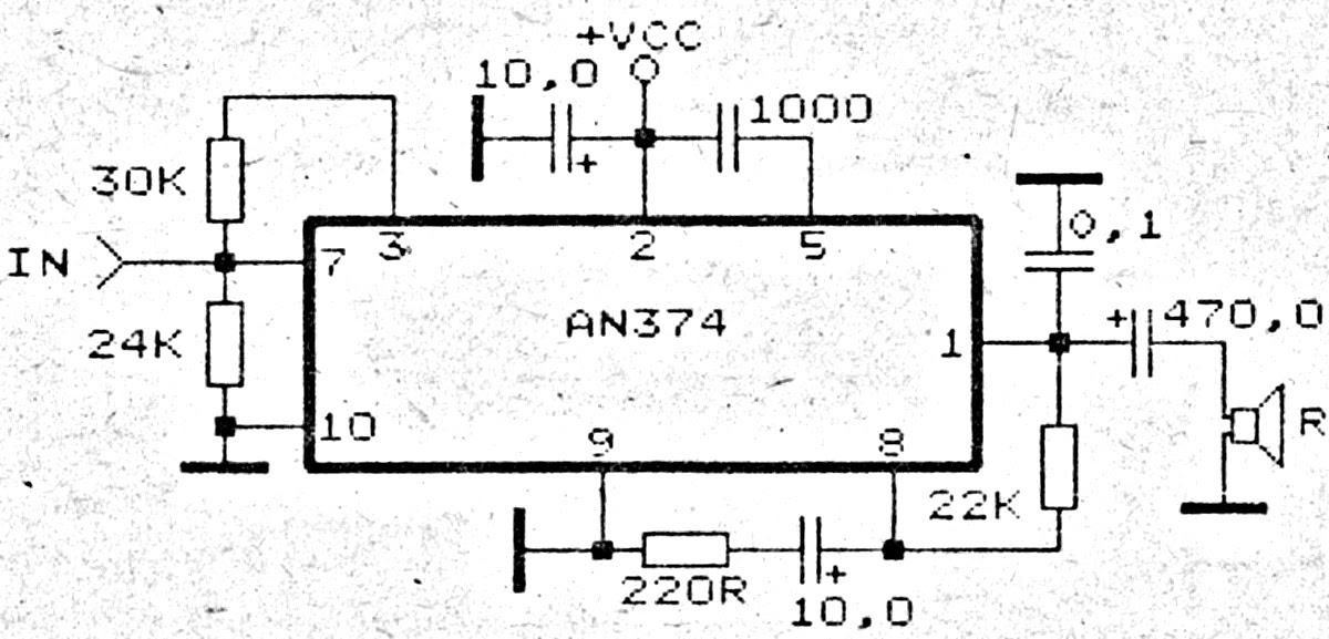 an374 1 watt l 8