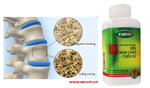 Canxi Tiens - Thien Sư Bổ sung canxi dạng bột hoà tan hỗ trợ xương khớp