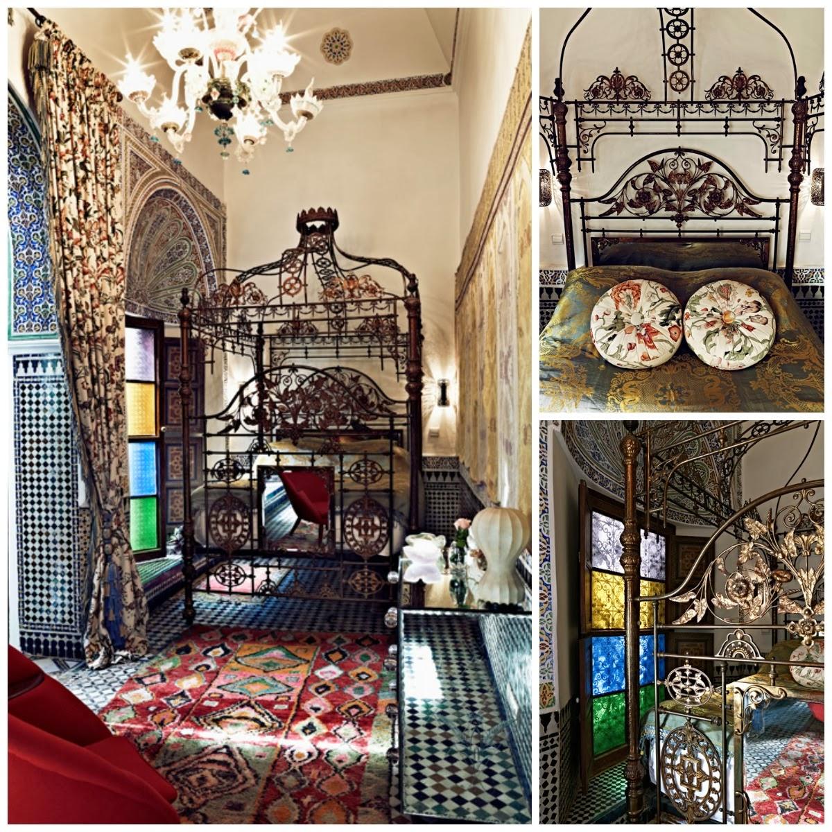El tiempo entre costuras, Marruecos, La Musa Decoración, Dormitorio, Bedroom