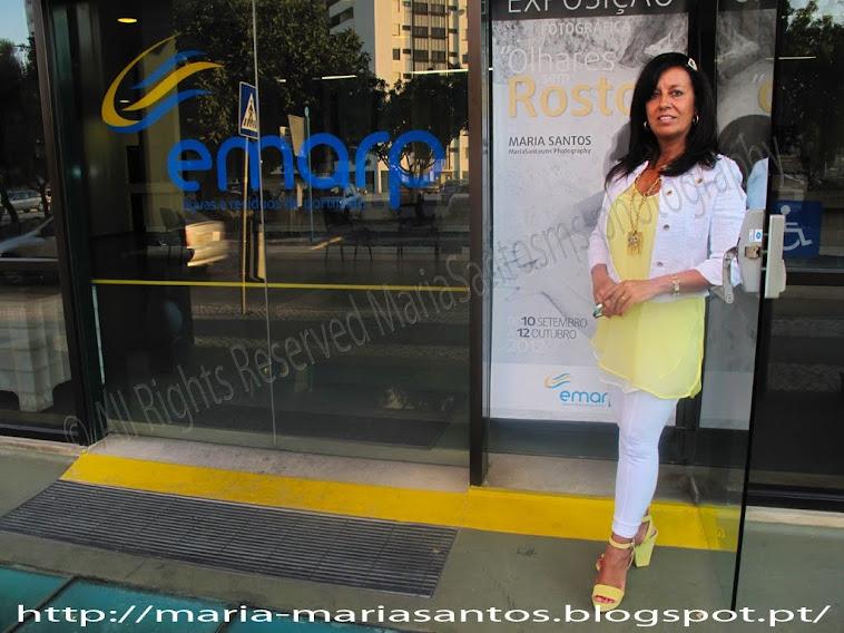 Exposição Fotográfica Olhares sem Rosto de MariaSantosms na EMARP de Potimão