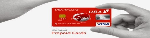 UBA Africard For Easy Online Shopping