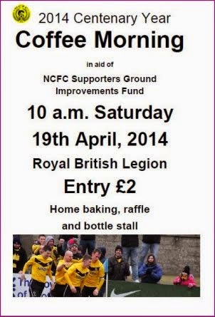 County Fans Coffee Morning Sat 19th April