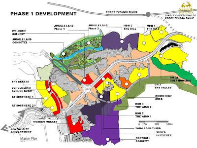 Sentul Nirwana: SITE PLAN