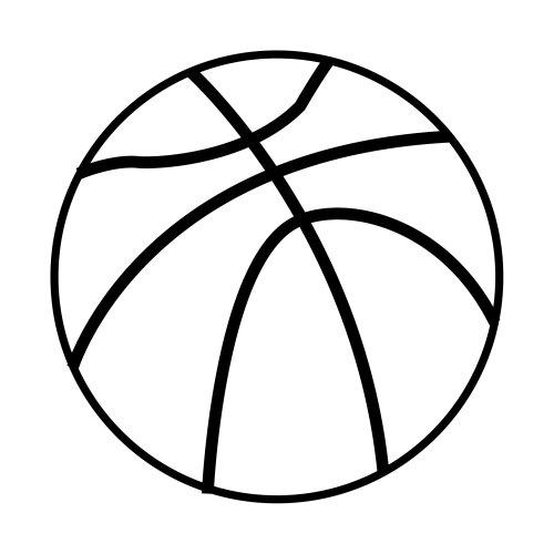 Blog MegaDiverso: Baloncesto para imprimir y pintar