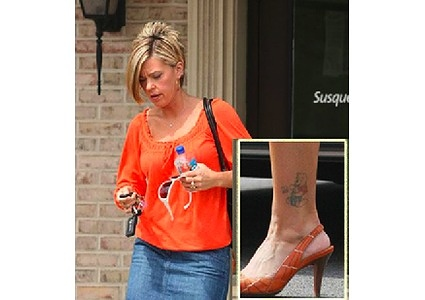 Celebrity 39 s tattoos kate gosselin 39 s pooh for Tom arnold tattoo