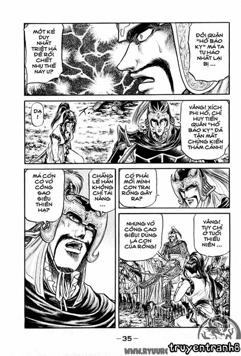 Chú bé rồng-Ryuuroden chap 24 Trang 36 - Mangak.info