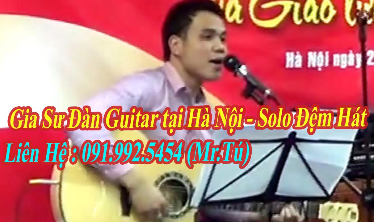Gia sư dạy đàn guitar tại Hà Nội