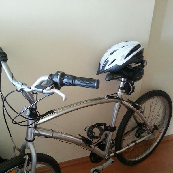 Indo trabalhar de bike - Experiência