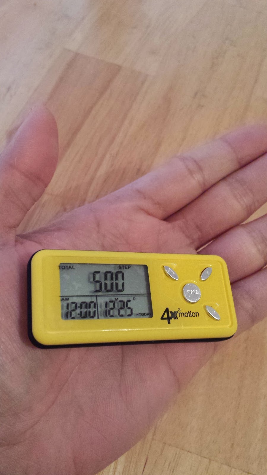 Product Review: Ozeri Digital Pocket Pedometer