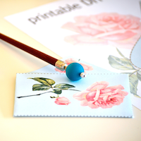 Free rose envelope: