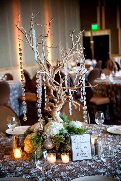 Flora Nova Design wedding reception at the Four Seasons Hotel Seattle