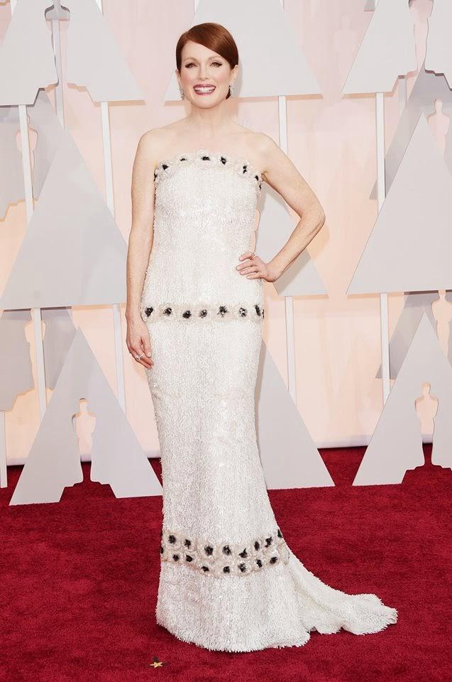 Óscares 2015 - as mais bem vestidas Julianne Moore em CHANEL