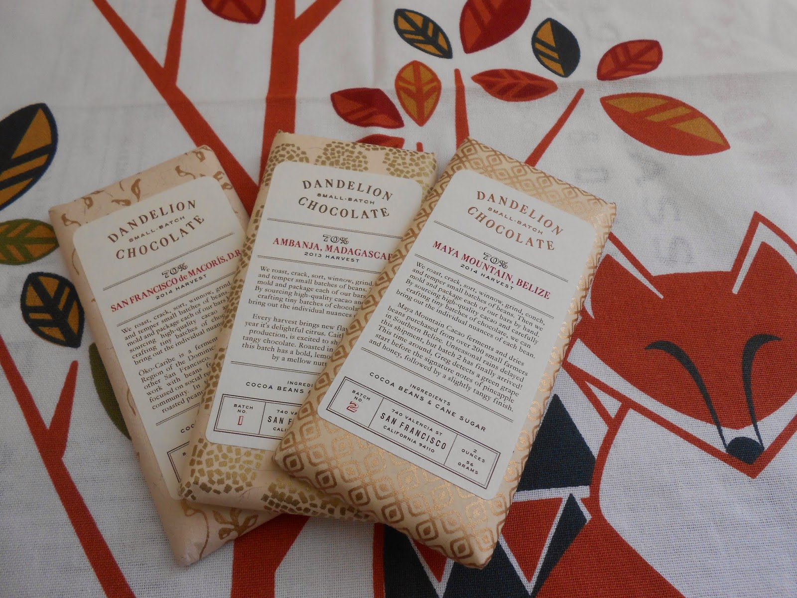 Dandelion Chocolate from San Francisco Review | Chocolate Speak