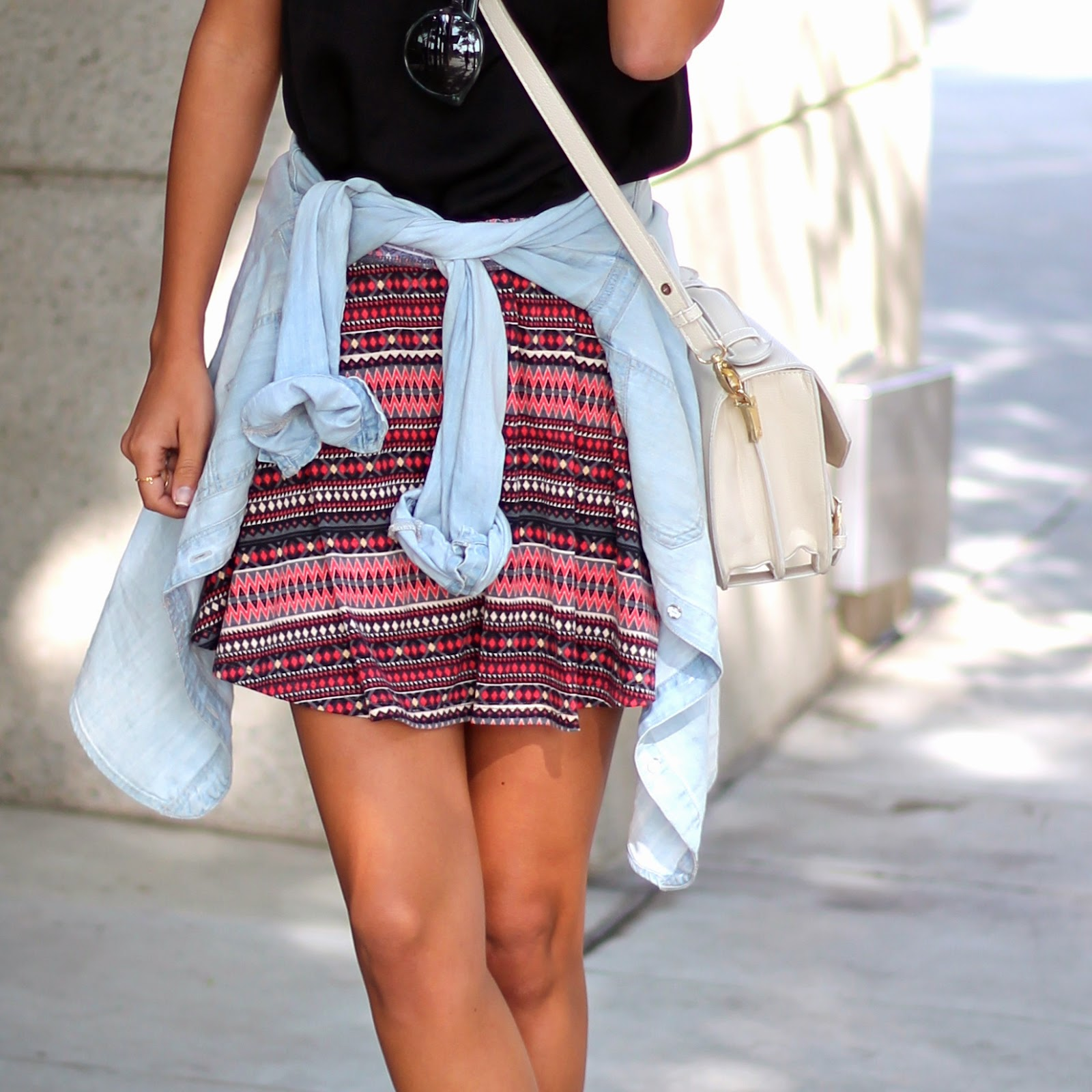 Target Aztec skirt