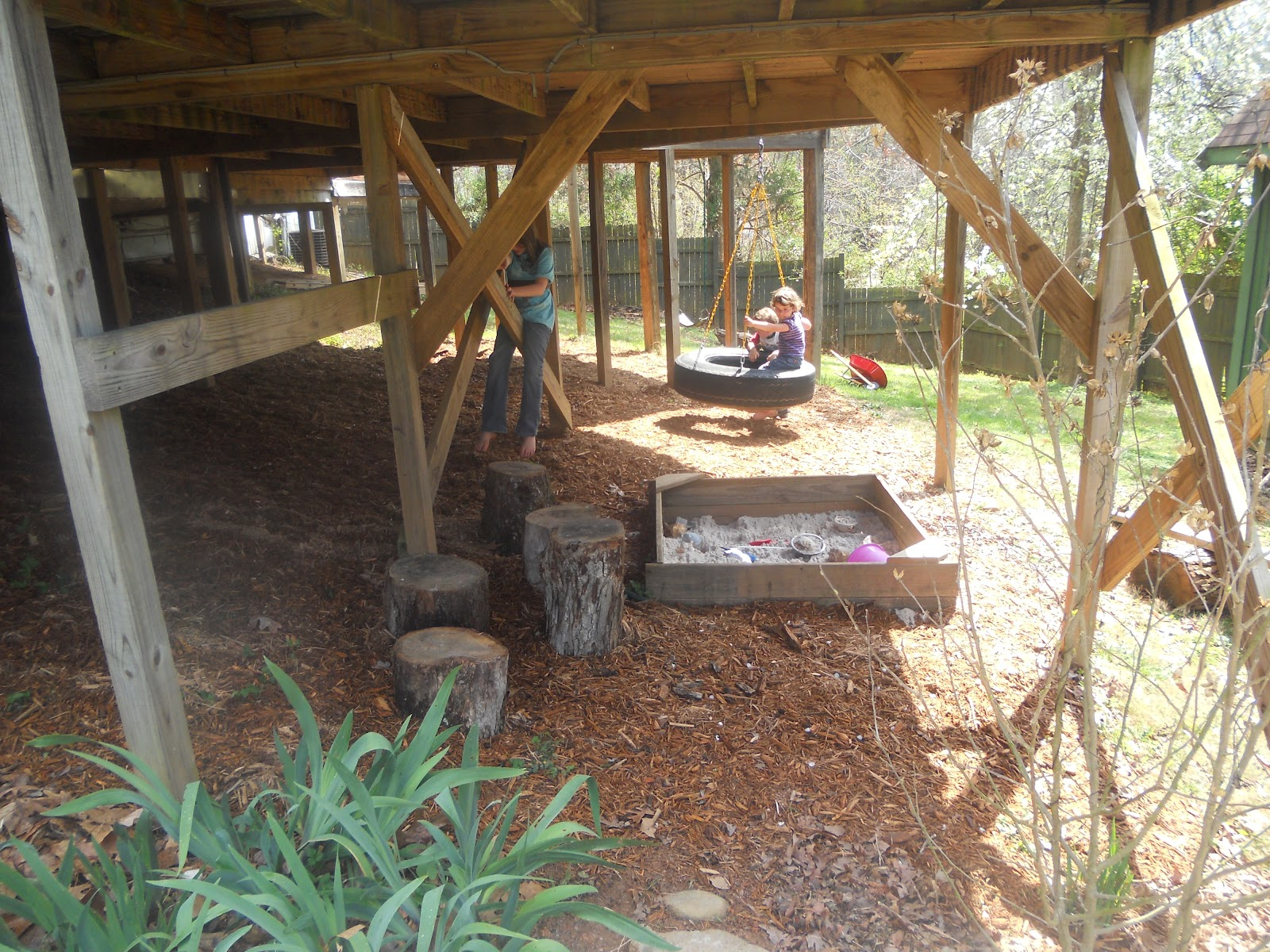 The Five of Us Outdoor Play Spaces