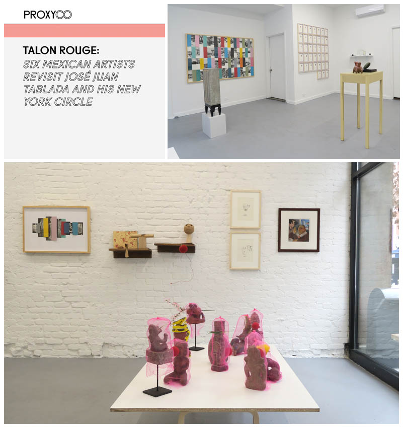 TALON ROUGE: SIX MEXICAN ARTISTS REVISIT JOSE JUAN TABLADA AND HIS NEW YORK CIRCLE