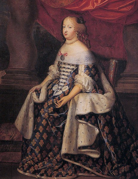 Who Was The Wife Of Louis Xiv
