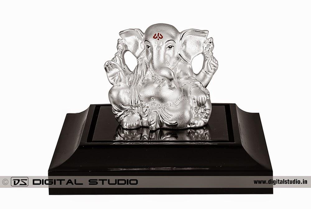 Sterling Silver Ganesha Idol