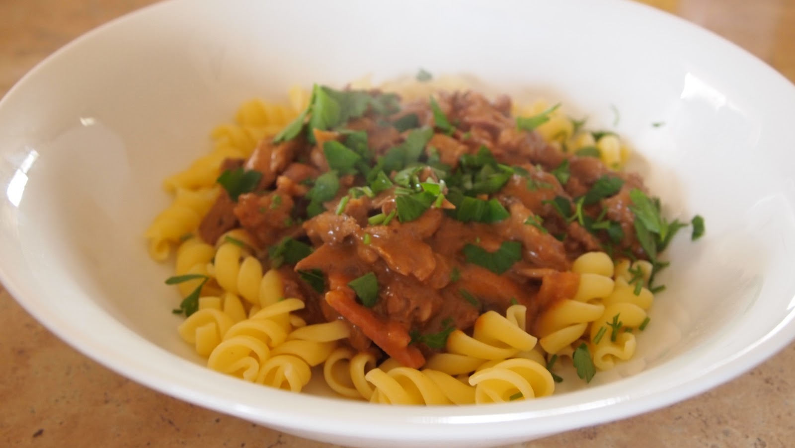 The Bush Gourmand: Beef Stroganoff