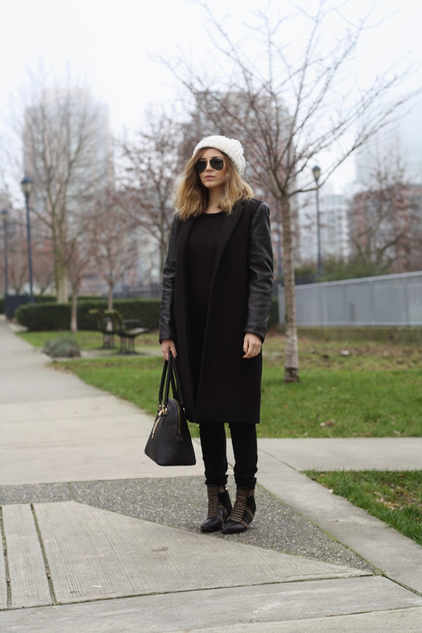 Zara, Aldo, Gold, LOB, Long Bob, Style, Fashion, Outfit, Bob, Haircut, Fog, Street Fashion, WhoWhatWear
