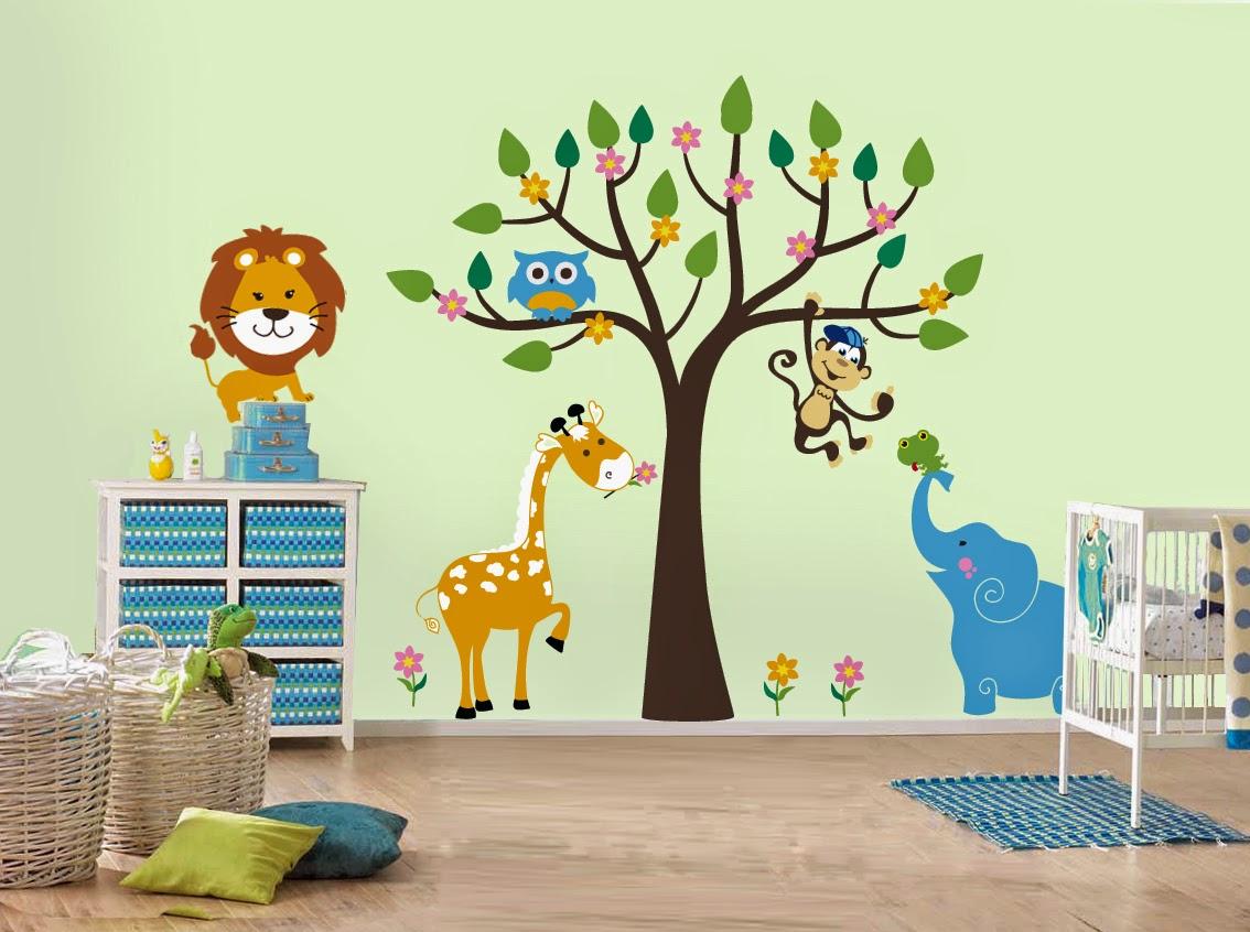 Wallpaper Dinding Kamar Tidur Utama / Anak / Keluarga