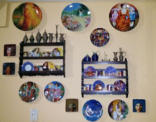 Colección de piezas cerámicas