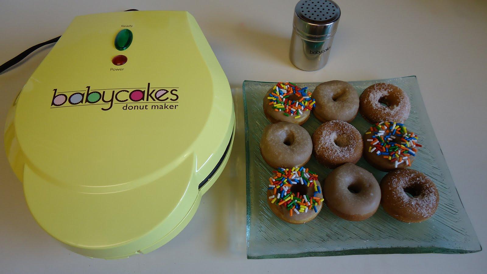 Unique Party Food to Go Babycakes Mini Donut Maker