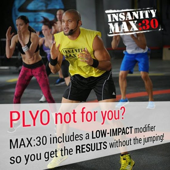 Insanity Max:30, Insanity, Shaun T, Max out, Test group, beachbody, modifier