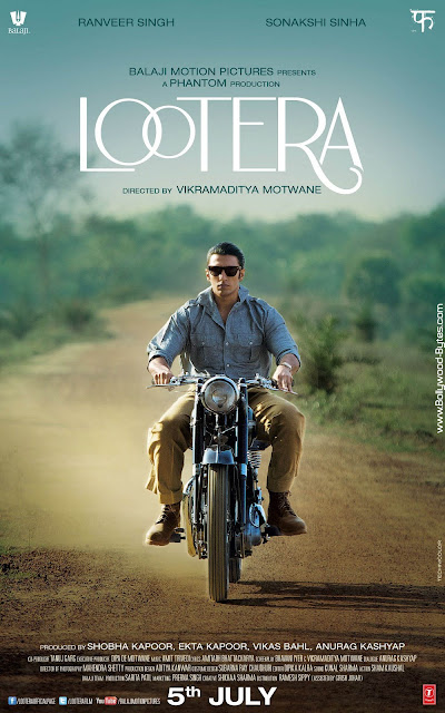 Second Look Poster - LOOTERA - Ranveer Singh