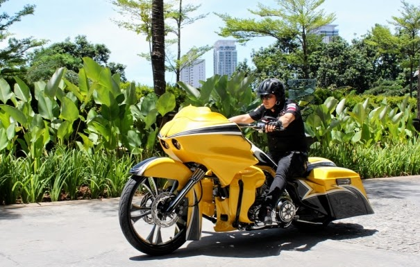 Kumpulan Gambar Modifikasi Harley Davidson Predator Jalanan