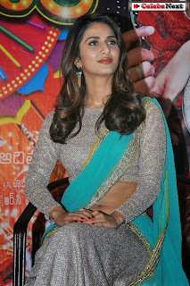 Actress Vaani Kapoor Latest  Pictures in Saree at Aaha Kalyanam Movie Press Meet  0015.jpg