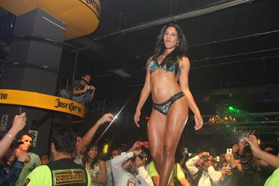 Rocio Miranda Rocio Miranda en desfile de lenceria!!