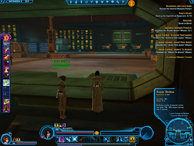 SWTOR - Companion Power Strikes Active