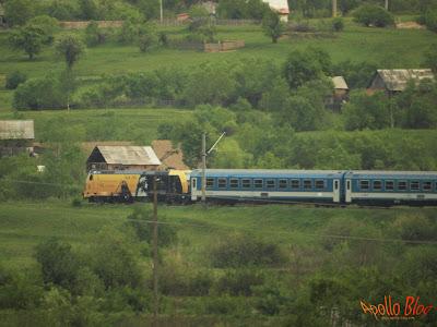 Trenul Nostalgia la Toplita