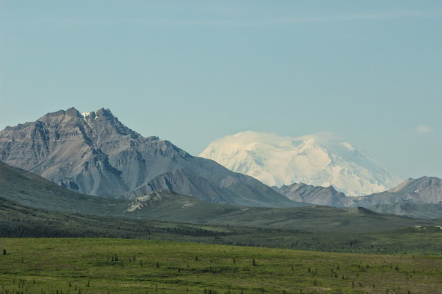 Denali National Park Alaska with Mt. Everest