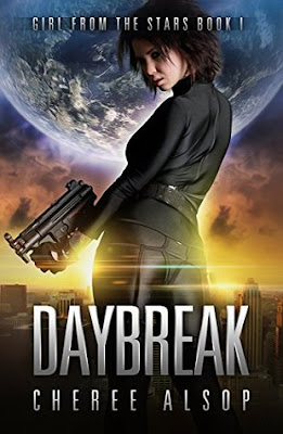 Daybreak The Girl from the Stars science fiction by Cheree Alsop
