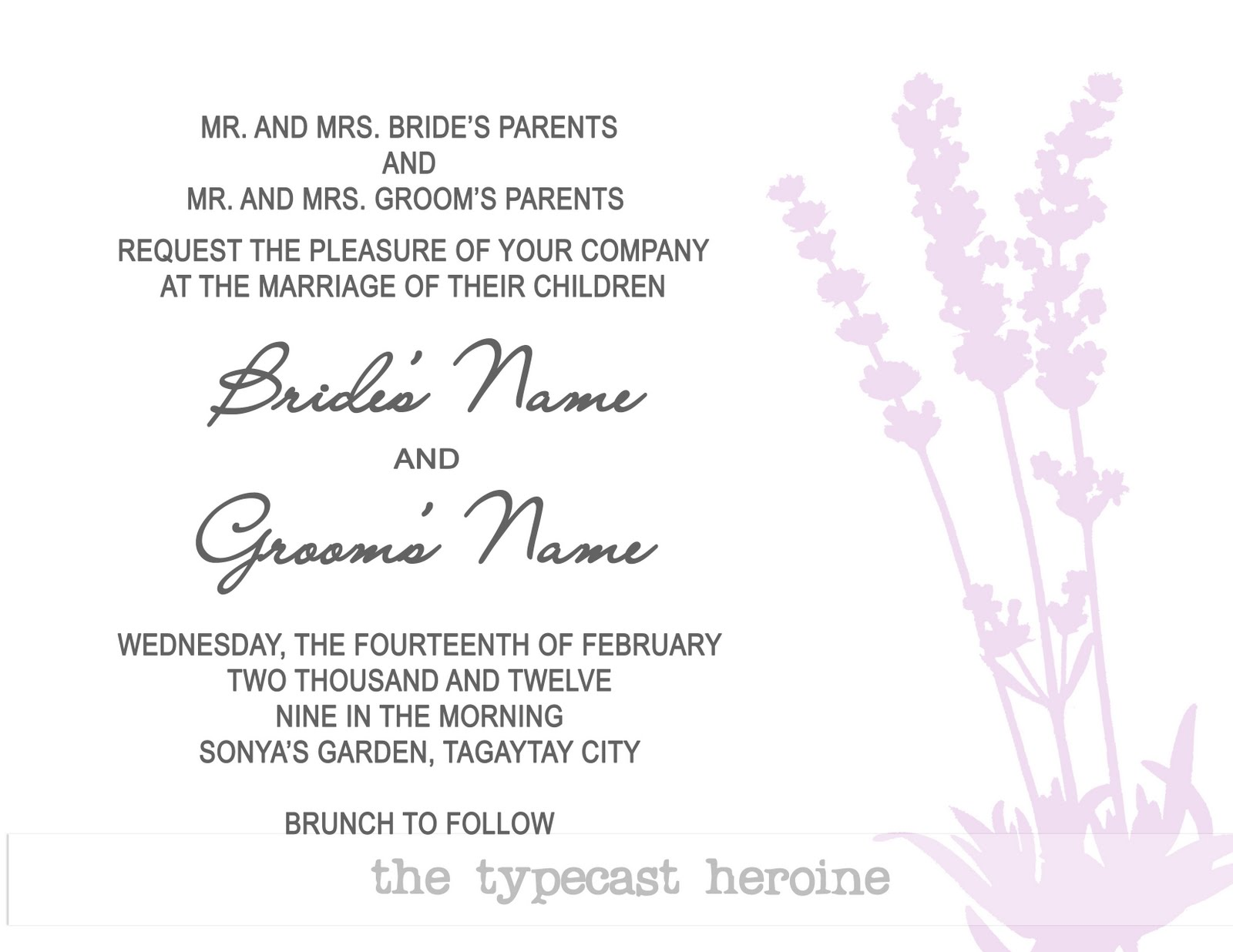 Quilled Thoughts: Invitations
