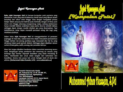 Resensi Buku Jejak Kenangan Hati Kumpulan Puisi Adamssein