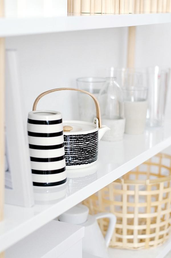 Möbel design regal  Möbel selber bauen | Regal im skandinavischen Design ...